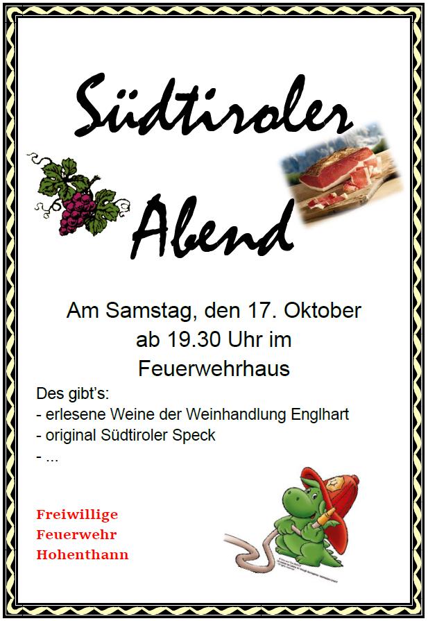 Südtiroler Abend 2015